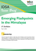 Emerging Flashpoints in the Himalayas