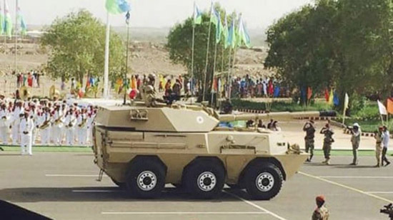 Djibouti parades Chinese tank destroyer